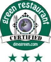 Green Restaurant Certified