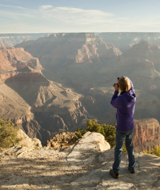 Photographer at the Grand Canyon