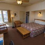 Queen bedroom in the Bright Angel Lodge